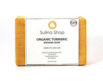 Organic Turmeric Bathing Soap