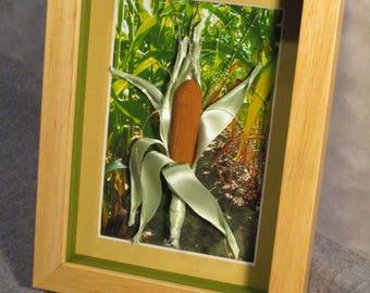 Bakelite Corn on the Cob Artwork, GMO