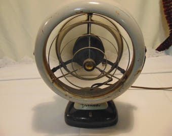 Vintage 1950's Working Vornado Fan