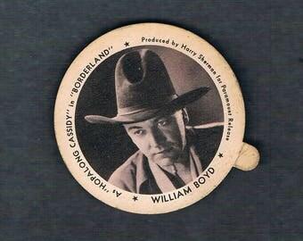 Dixie Lid Bill Boyd Hopalong Cassidy - Circa 1937