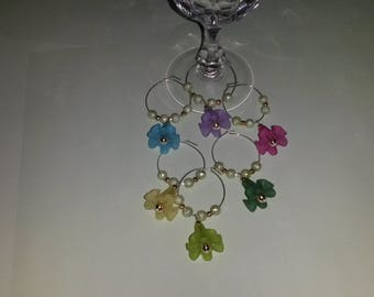 Wine glass Rings for glasses