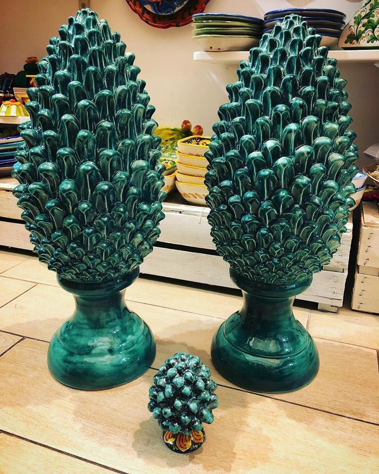 Significato delle pigne in ceramica for I semi della pigna