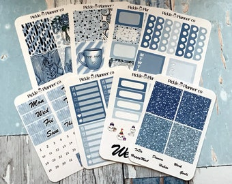 Pickle Planner Co Weekly Kit - planner blues