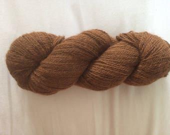 Alpaca Merino blend natural dyed yarn wool.