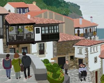 Ballasts. Asturias