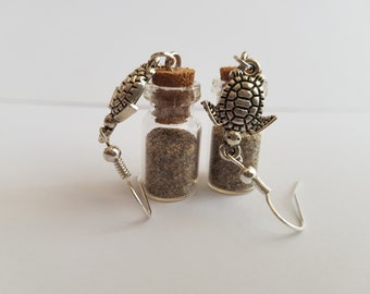 Vial earrings