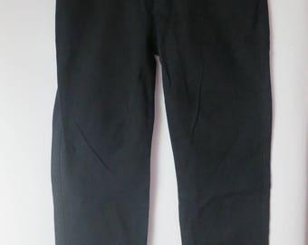 2108: Black skinny jeans Celio lolau T42