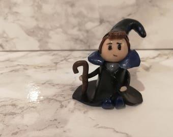 Handmade Clay Wizard