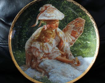 "Reco Limited Edition Collector's Plate ""Mother's Sunshine"" 9 1/4"""