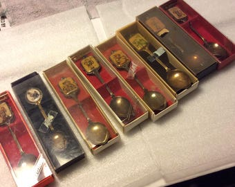 Collector Series Hummel Silver Spoons