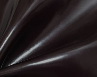 Leather piece Burgundy Horse Leather Imitated Cowhide 4.25 oz / 1.7 mm Caaat Leather #3132