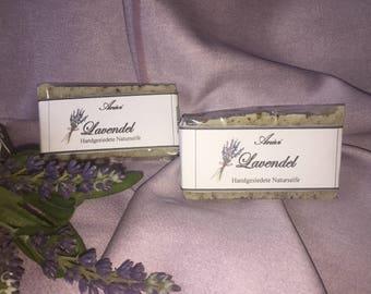 Lavender hand-boiled natural herbal soap