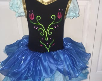 Anna tutu, Anna dress, Anna costume . Child costume