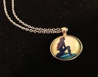 The Little Mermaid Pendant Necklace
