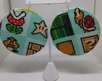 Super Mario 3 Bros Earrings PopTings