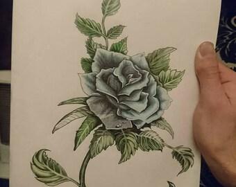 ORIGINAL* Blue Flower
