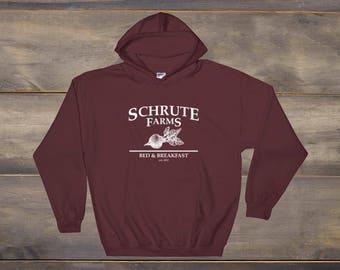 Schrute Farms Sweatshirt, Dunder Mifflin Hoodie, The Office Sweatshirt, The Office Tv Show, Dwight Schrute, Michael Scott, Tumblr Sweatshirt