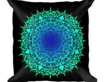 Double-sided Mandala Pillow