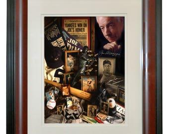 Joe DiMaggio 8x10 Framed Color Portrait