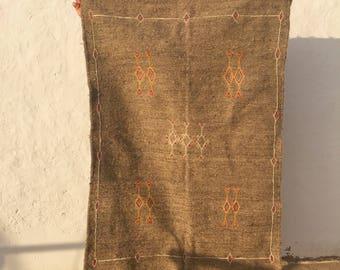 Grey Berber bohemian Carpet