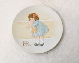 "Bessie Pease Gutmann Plates Once Upon A Childhood  ""Love Is Blind"""