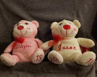 Personalized Valentine's Plush Toy