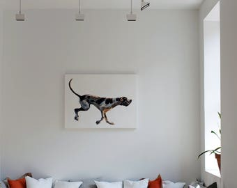 Medium Custom Dog Portrait from Photograph