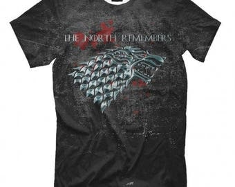 The North Remembers Game of Thrones  Men's Women's All Sizes