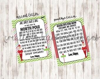 Elf Good Bye Letter - Elf Printables - Personalized Elf Letter - Digital File - Elf Goodbye Letter - Christmas Elf Letter - Elf Arrival