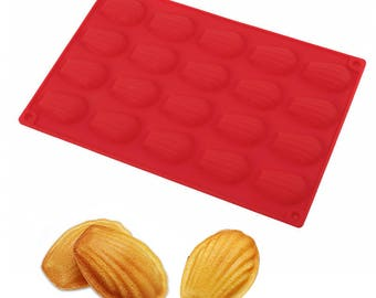 1pc Madeleine Shell, Cake Mould ,DIY Silicone Baking Pastry Tools, 3D Baking Tray ,Jelly Pudding, Mousse ,Chocolates ,Bakeware ,Cake Pans