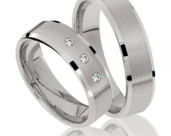 Platinum Wedding Band comfort fit