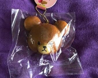 Bear School Head Mascot Squishy
