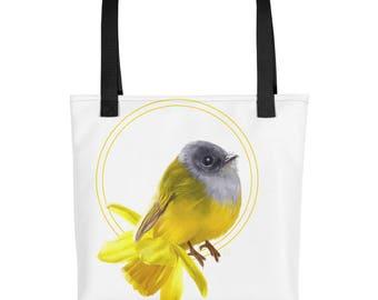 Bird narcis Tote bag