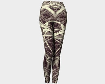 Multiple Colors - Dancing Grass Women's Leggings, Style 5