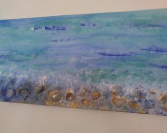 "Acrylic Painting ""Caribbean"", Original"