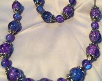 Galaxy Bracelet and Necklace