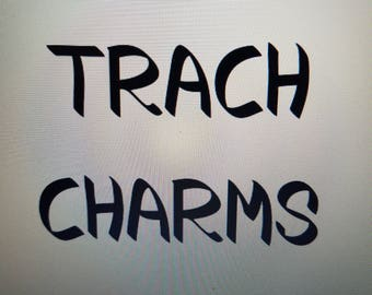 TRACH CHARMS, SET 3