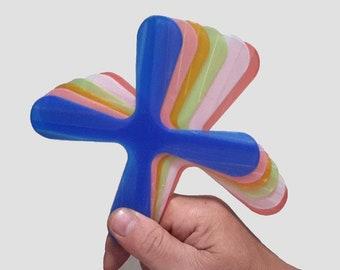 3D Printed Lightweight Indoor Boomerang