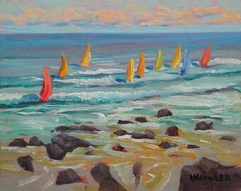 Wind Surfin' Hookipa, Maui