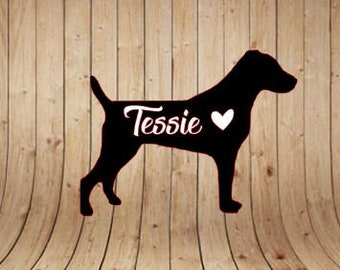 Jack Russell Terrier | Dog | Car Vinyl Decal | Vinyl Decal