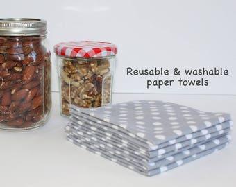 Set of 10 - Reusable Unpaper Towels