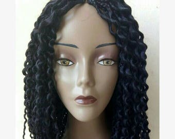 Loosed braid wig