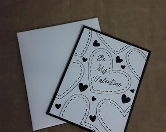 Be My Valentine Greeting Card, love card