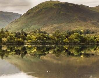 Fine art photographic print of Ullswater, Lake District, UK