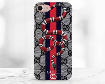 Gucci iphone X Case Gucci snake Samsung Note 8 Case red snake iPhone 8 Gucci case iPhone 8 plus Gucci Case Iphone 7 Plus Case Iphone 6s Plus