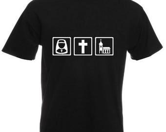 Nun Cross Church T-shirt