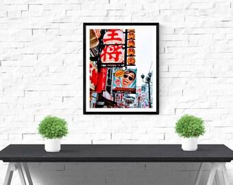 Japan Photography, Japanese Print, Osaka, Japan Print, Japanese Photography, Wall Art, Travel Photography, Asia Photography