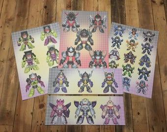 Transformers MEGA print Pack 1