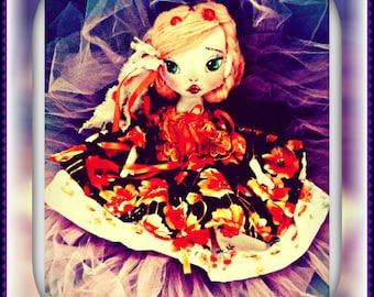 Textile boudoir beautiful dolls