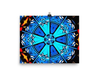 Abstract Mandala - Poster